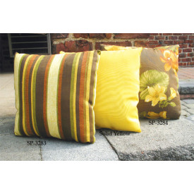 Set of (2)- 12 Indoor/Outdoor Throw Pillows