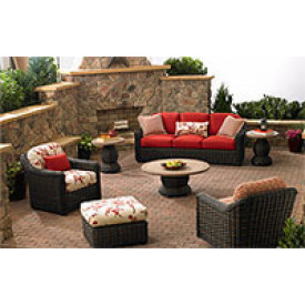 (6) Piece South Hampton Synthetic Wicker Seating Group
