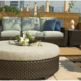 (3) Piece Leeward Synthetic Outdoor Wicker Seating Group