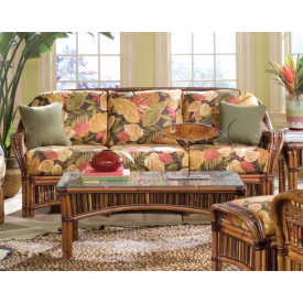 Sanibel Natural Rattan Sofa