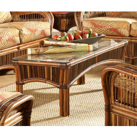 Sanibel Natural Rattan Cocktail Table