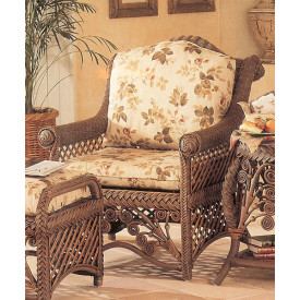 Victorian Lounge Chair With Cushions