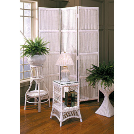 Ashley Three Panel Wicker Screen