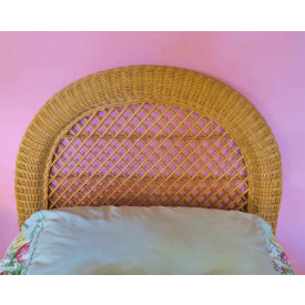 Arch Twin Wicker Headboard