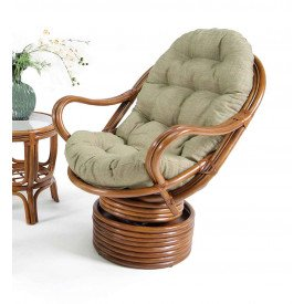 Delta Swivel Rocker Chair with Cushion
