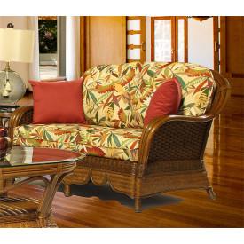 Casa Blanca  Rattan Love Seat