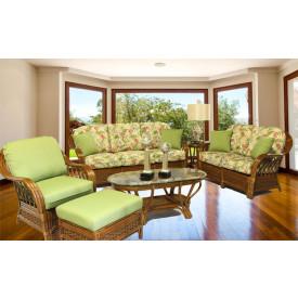 5 Piece Coconut Beach Natural Rattan Sofa Set