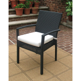 Caribbean Dining Arm Chair with Cushion