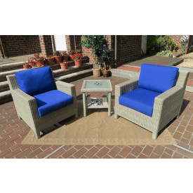 Caribbean Chat Set with Cushions