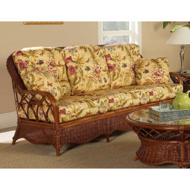Eastwind Natural Rattan Sofa (Custom Finishes Available)