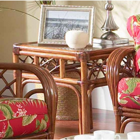 Grand Isle Rattan End Table