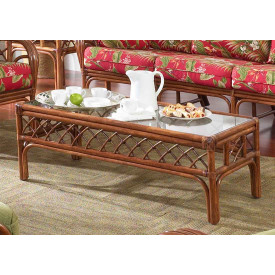 Grand Isle Rattan Cocktail Table