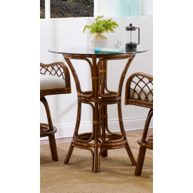 Grand Isle Rattan Counter Height Dining Table