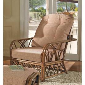 Orchard Park Natural Rattan Morris Chair