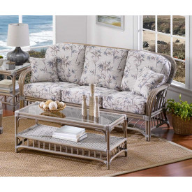 Oceanview Natural Rattan Sofa (Custom Finishes Available)