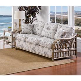 Oceanview Rattan Sleeper Sofa (Custom Finishes Available)