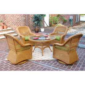 belaire swivel glider set with 24 high table