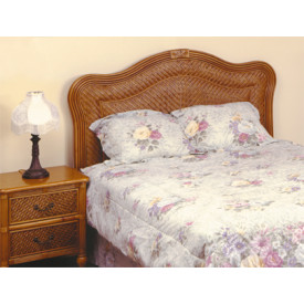 Del Ray Full or Queen Size Rattan Headboard
