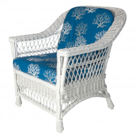 Harbor Front Wicker Chair