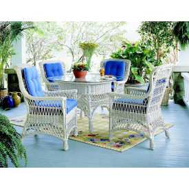 Rockport Wicker Dining Set