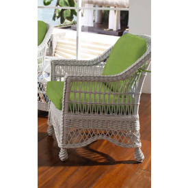 Capri Wicker Lounge Chair with Cushions