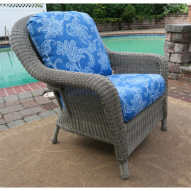 Laguna Beach Resin Wicker Chair with Cushions