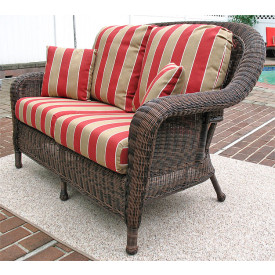 Laguna Beach Resin Wicker Loveseat