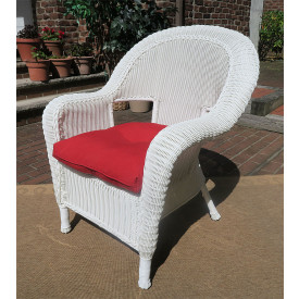 Malibu Resin Wicker Chair with Cushion
