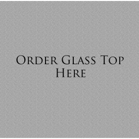 Glass Top Only 2-Draw File Cabinet