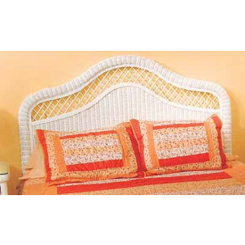 Pavilion Full-Queen X-Top Wicker Headboard
