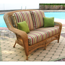 Palm Springs Resin Wicker Love Seat