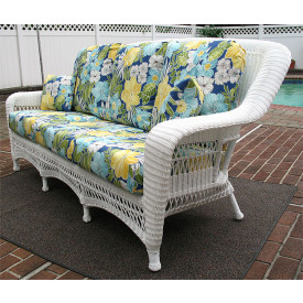 Palm Springs Resin Wicker Sofa