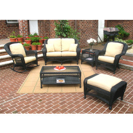 6-Piece Palm Springs Collection with Cushions