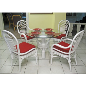 "Savannah 42"" Round Rattan Dining Sets - Clearance"