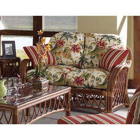 Antiqua Loveseat with Cushions