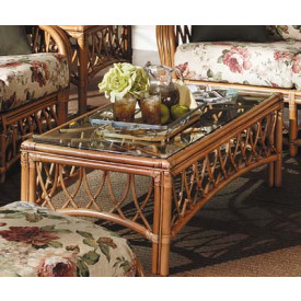 Antiqua Natural Rattan Coffee Table