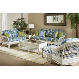 (5) Piece Bermuda Wicker Sofa Collection