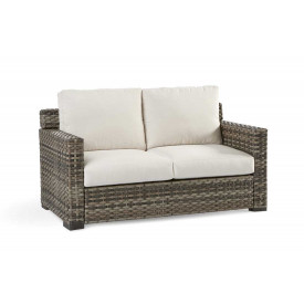 Biscayne Bay All Weather Resin Wicker Love Seat