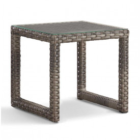 Biscayne Bay All Weather Resin Wicker End Table