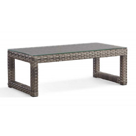 Biscayne Bay All Weather Resin Wicker Cocktail Table