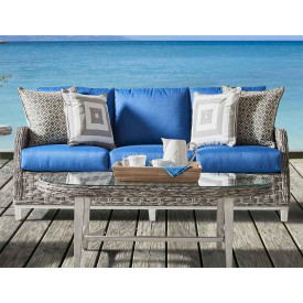 Canyon Lake Resin Wicker Outdoor Sofa