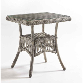 San Carlos Resin Wicker End Table  (Not Sold Alone)