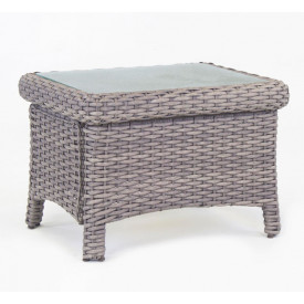 St. Croix All Weather Resin Wicker  End Table