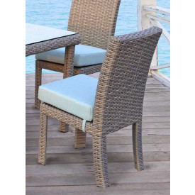 St. Croix All Weather Outdoor Resin Wicker Dining Side Chair