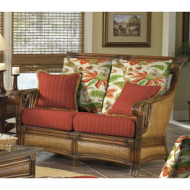 Saint Helena Loveseat with Cushions