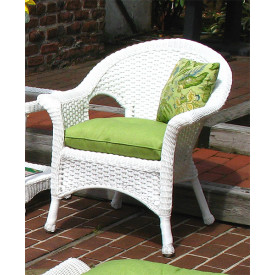 Veranda Resin Wicker Chair With Cushion