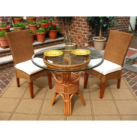 3 Piece Signature Wicker Dining Set