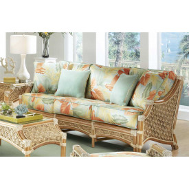 Aloha Rattan Sofa with Cushions