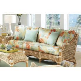 Aloha Natural Rattan Sofa