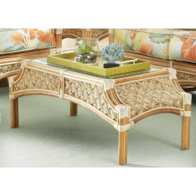 Aloha Rattan Cocktail Table